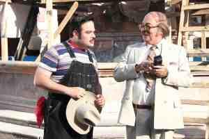 Andrés Bustamante debuta en el cine mexicano.
