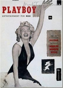 Playboy de 1953 com a bela Marilyn Monroe[8]