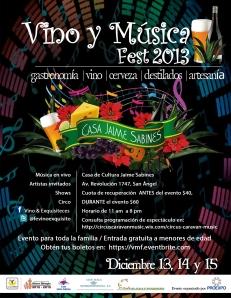 VINO Y MUSICA FEST- FLYER EN ALTA
