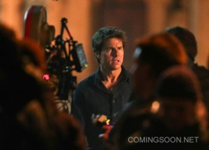 Tom Cruise film set