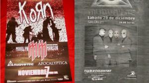 La primera vez que tocaron fue abriendole a Korn y después regresaron a tocar en el desaparecido Salón 21