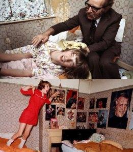 Estas fotos son reales, y fueron usadas en la película.