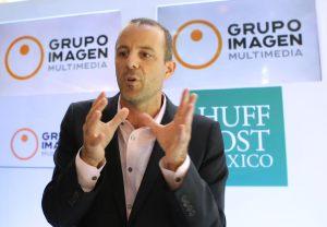 Asistio Jared Grusd, CEO, The Huffington Post y Pascal Baltran. FOTO: MATEO REYES ARELLANO