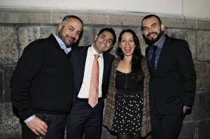 Eduardo Muñiz, Christian Gómez, Gabriela Quintero y Alejandro Franco. Foto: Revista Warp