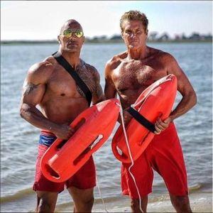 m.Dwayne Johnson és Hasselhoff
