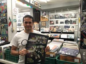 Claudio Pérez, dueño de Retroactivo Records