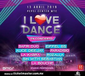 I LOVE DANCE- BANNER-