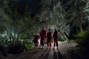Lupita-Nyongo-Winston-Duke-Evan-Alex-y-Shahadi-Wright-Joseph-en-Nosotros-2019