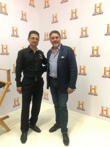 Octavio Flores y Eddy Ruiz
