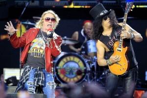 Guns N'Roses in concert in Madrid, Spain - 04 Jun 2017
